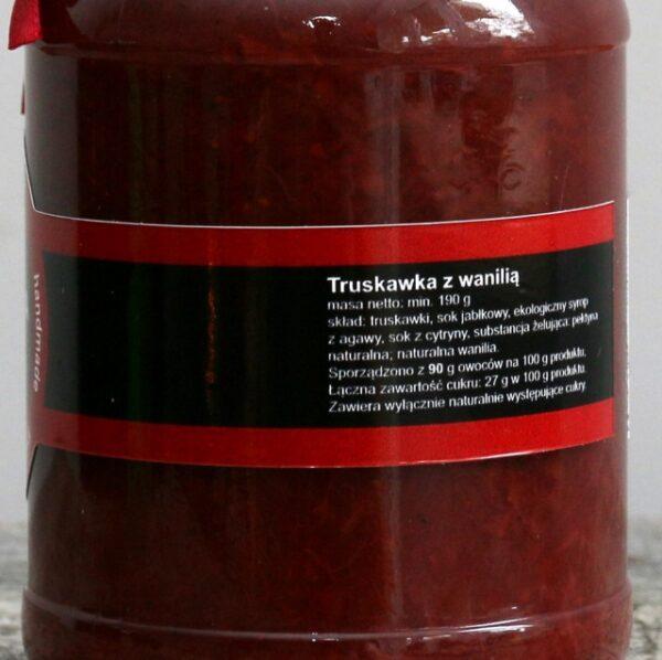 Truskawka z wanilią 190 g