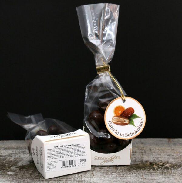 Daktyle w czekoladzie z imbirem i pomarańczą 100g