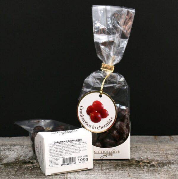 Żurawina w czekoladzie 100g