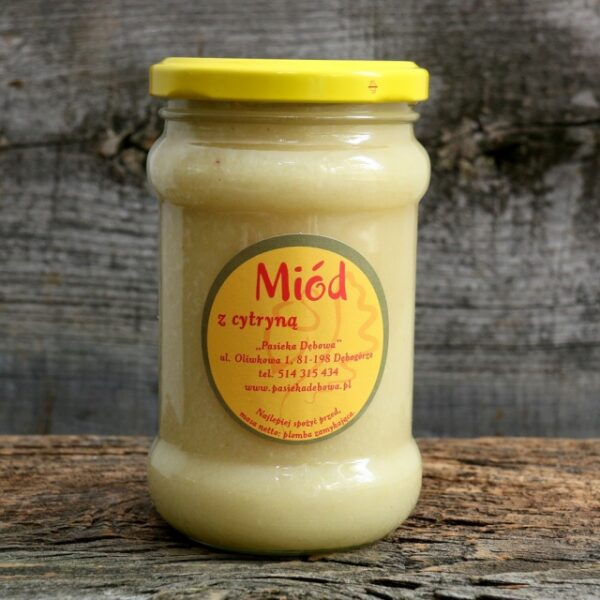 Miód z Cytryną
