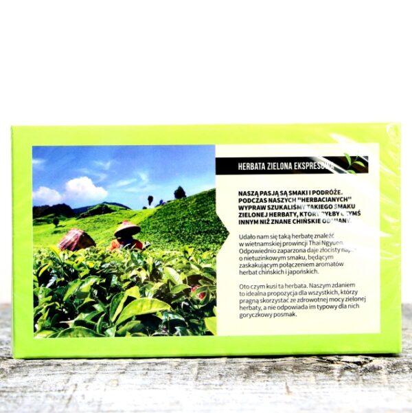 Herbata Ekspresowa Zielona Thai Nguyen
