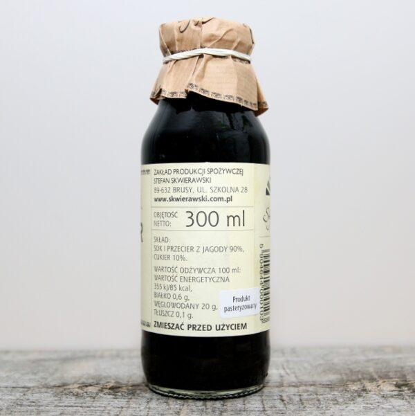 Nektar z czarnej jagody 300ml