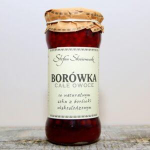 Owoce Borówki w soku
