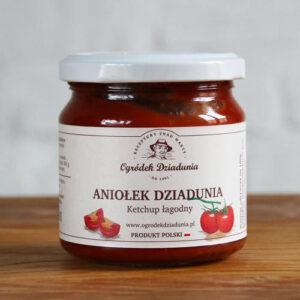 Aniołek Dziadunia - keczup łagodny 220g