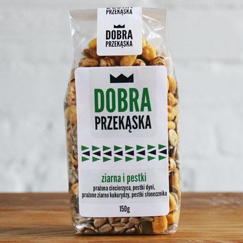 Dobra Przekąska Ziarna i Pestki 150 g
