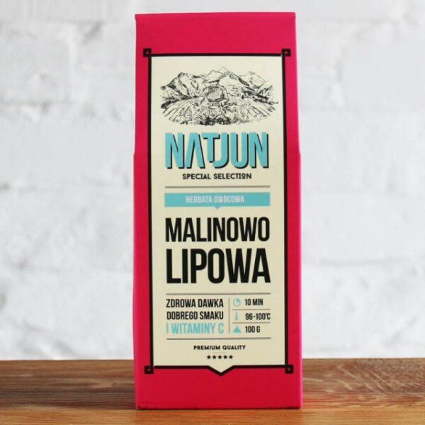Herbata Owocowa Malinowo Lipowa 100 g