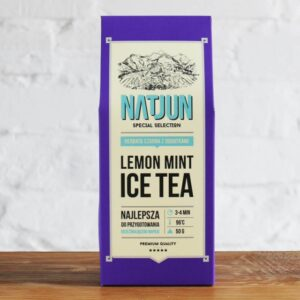 Herbata Czarna Lemon Mint Ice Tea