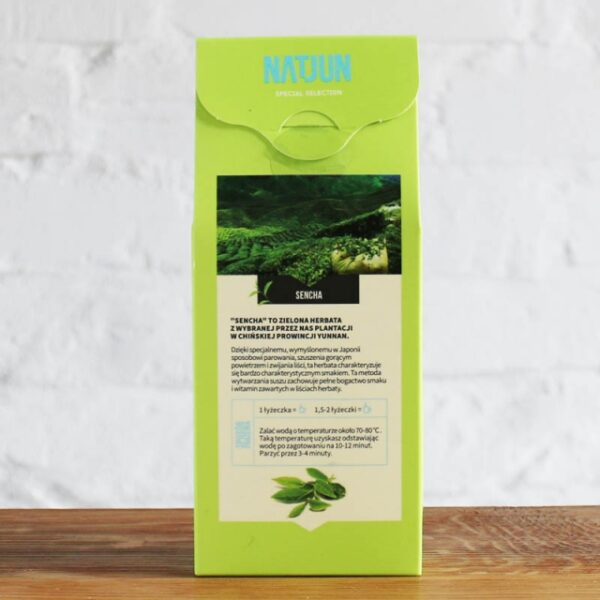 Herbata zielona Sencha 100g krótki termin