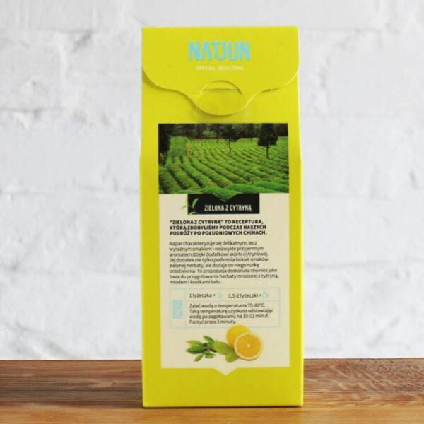 Herbata Zielona z Cytryną