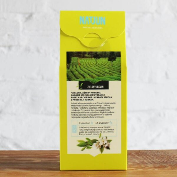 Herbata Zielona Zielony Jaśmin
