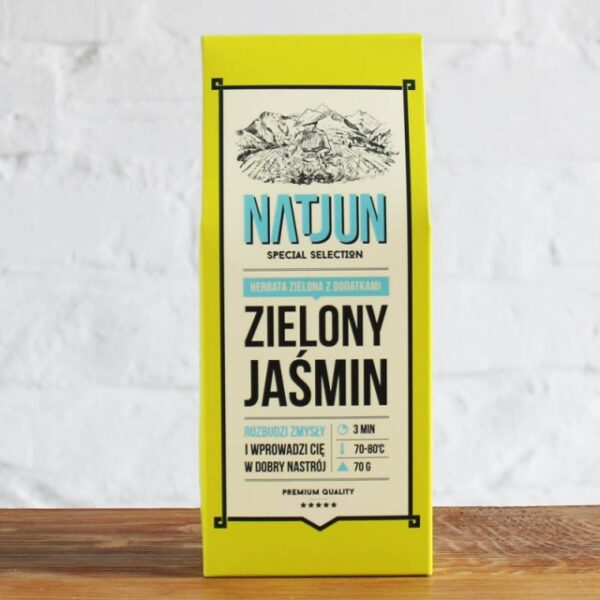 Herbata Zielona Zielony Jaśmin 70g