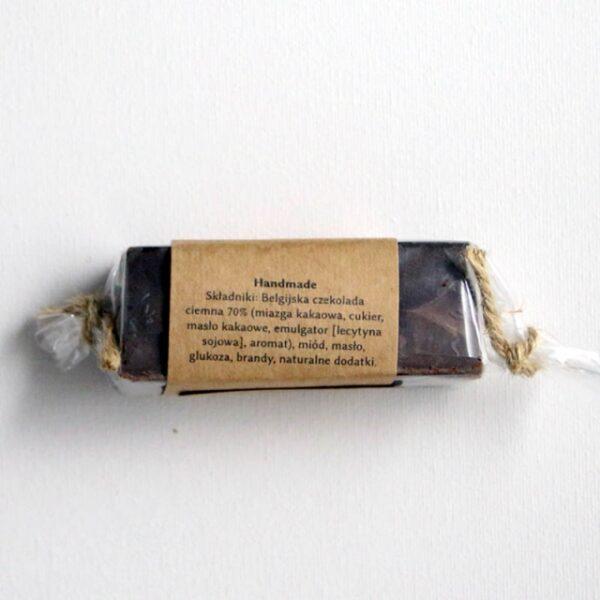 Baton miodowy trufla z belgijskiej czekolady 75g