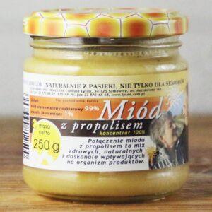 Miód z propolisem 250g