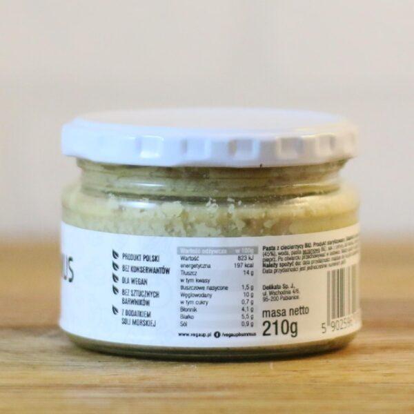 Hummus Tradycyjny z ciecierzycy 210 g