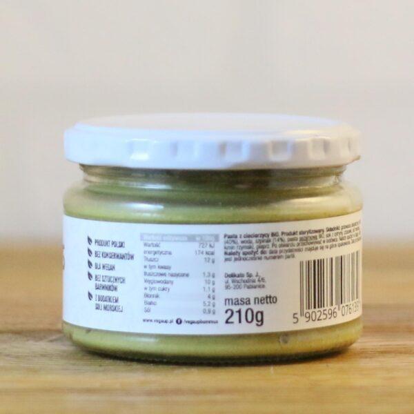 Hummus ze szpinakiem 210 g