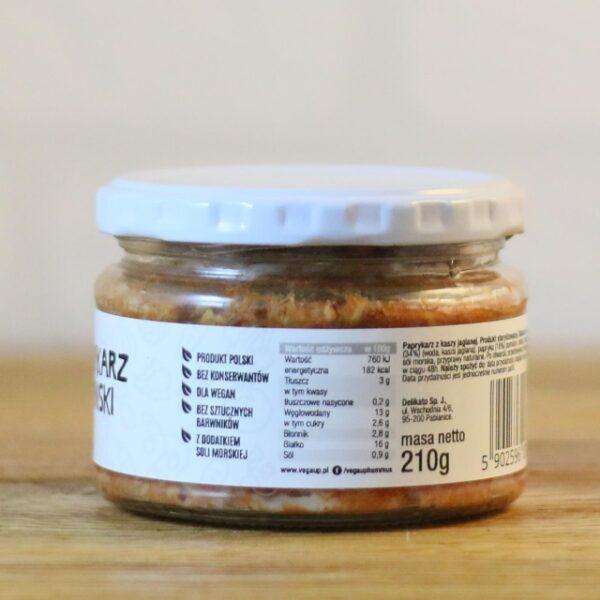 Paprykarz wegański 210 g