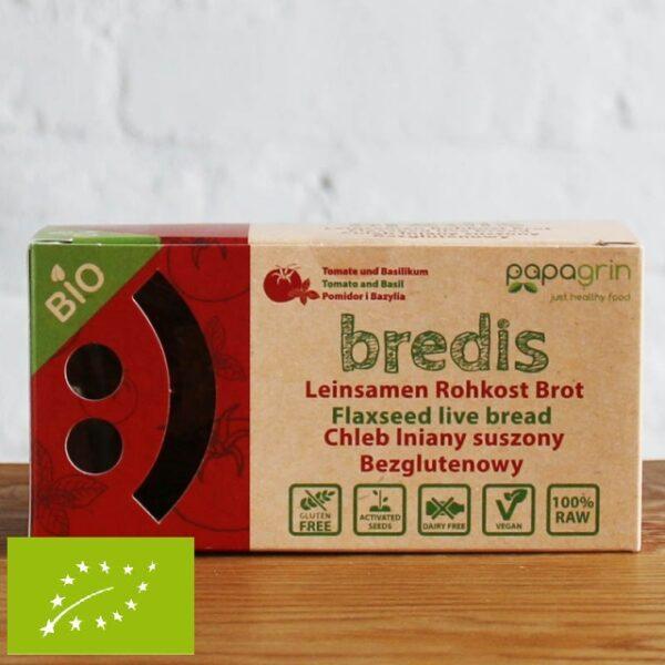 Chlebek Bredis Pomidor i Bazylia