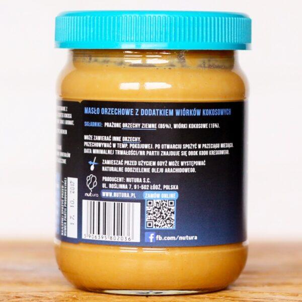 Masło orzechowe z kokosem 470g