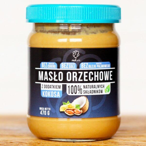 Pasta orzechowa z kokosem 470g
