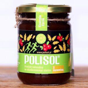 Polisol z żurawiną - Naturalne źródło witamin 330 g