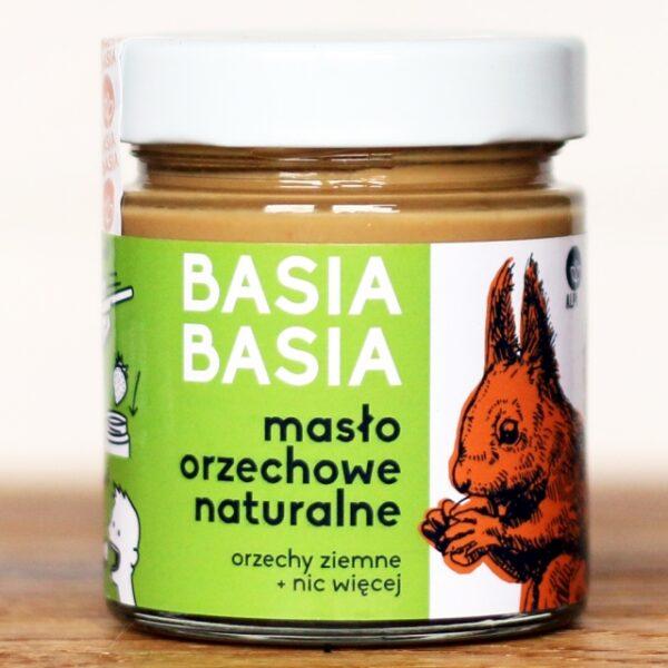 Masło orzechowe naturalne Basia Basia 210g