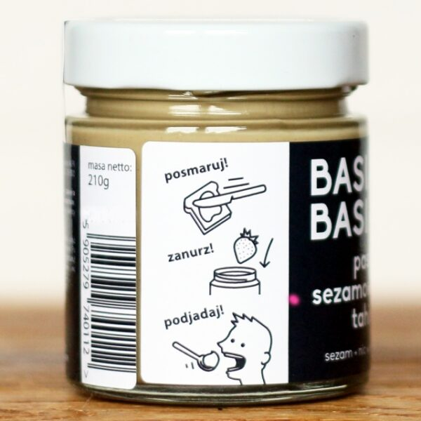Pasta sezamowa tahini 210g