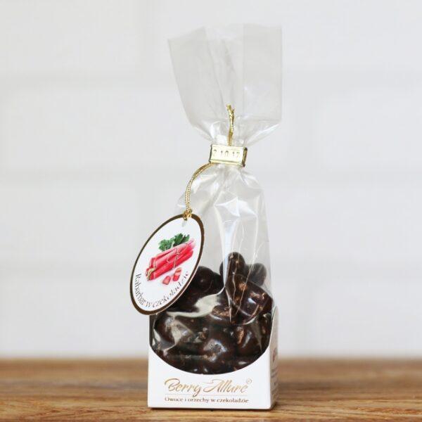 Rabarbar w czekoladzie 100g