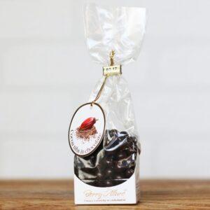 Ziarna kakaowe w czekoladzie