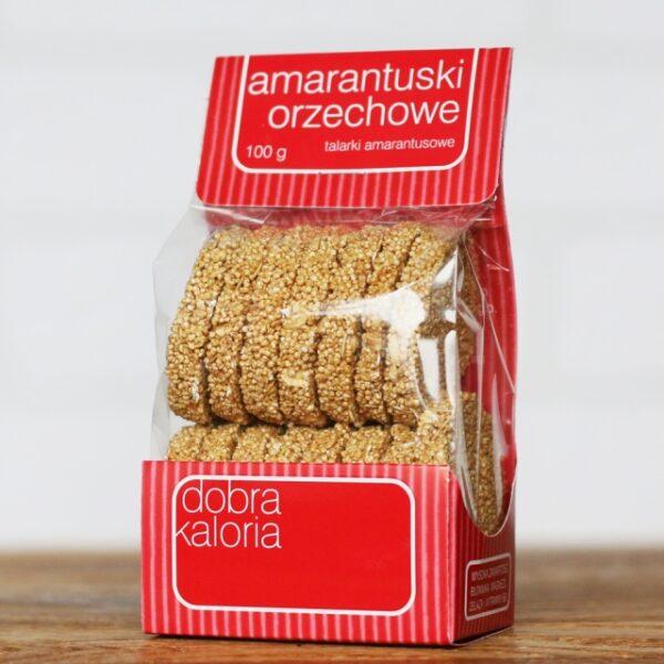 Ciastka Amarantuski orzechowe