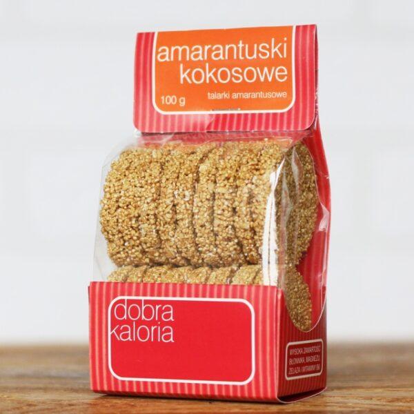 Ciastka Amarantuski kokosowe