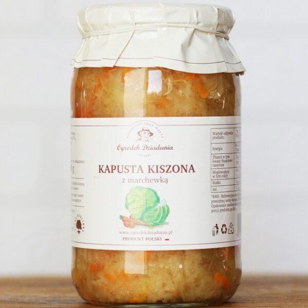 Kapusta kiszona z marchewką 900ml