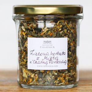 Zielona herbata z Miętą i Czarną Porzeczką 60 g