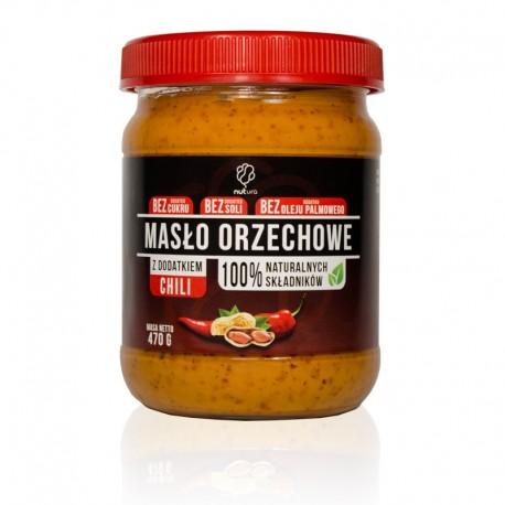 Pasta orzechowa z dodatkiem chili 470g