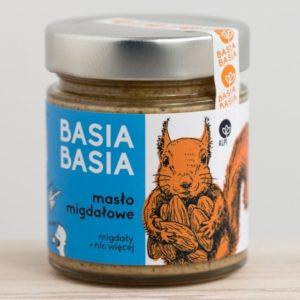 Masło migdałowe Basia Basia 210g