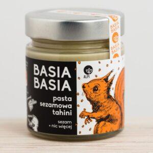 Pasta sezamowa tahini Basia Basia 210g