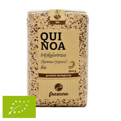 Quinoa trójkolorowa (komosa ryżowa) BIO 500g