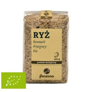 Ryż basmati brązowy BIO 500 g