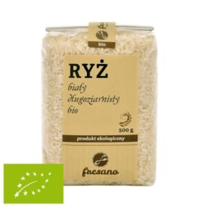 Ryż biały długoziarnisty BIO 500 g