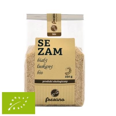 Sezam biały łuskany BIO 250 g