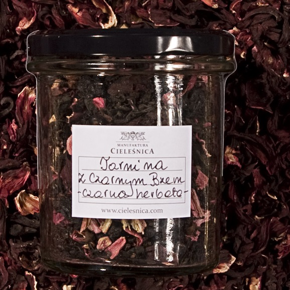 Czarna herbata owoce tarniny z bzem 100 g