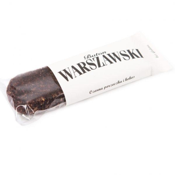 Baton Warszawski - czarna porzeczka kokos