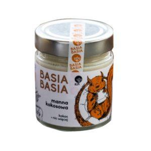 Manna kokosowa ( mus kokosowy) Basia Basia 210g