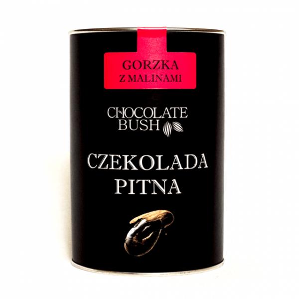 Czekolada do Picia Gorzka z Malinami