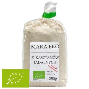 Mąka z kasztanów jadalnych bezglutenowa EKO 250g