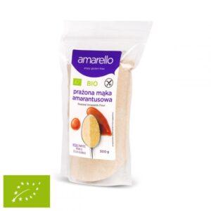 Mąka Amarantusowa prażona BIO