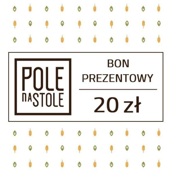 Bon Prezentowy 20 zł