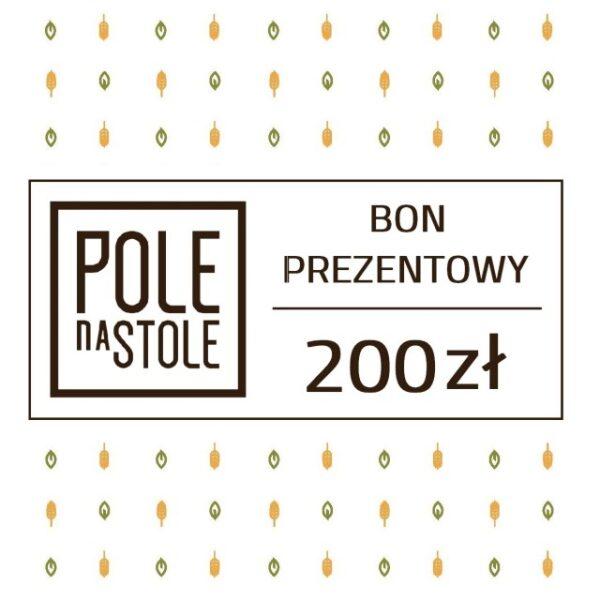 Bon Prezentowy 200 zł