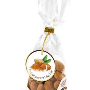 Migdały w białej czekoladzie z cynamonem 100g