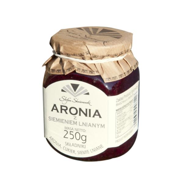 Aronia z siemieniem lnianym 250g