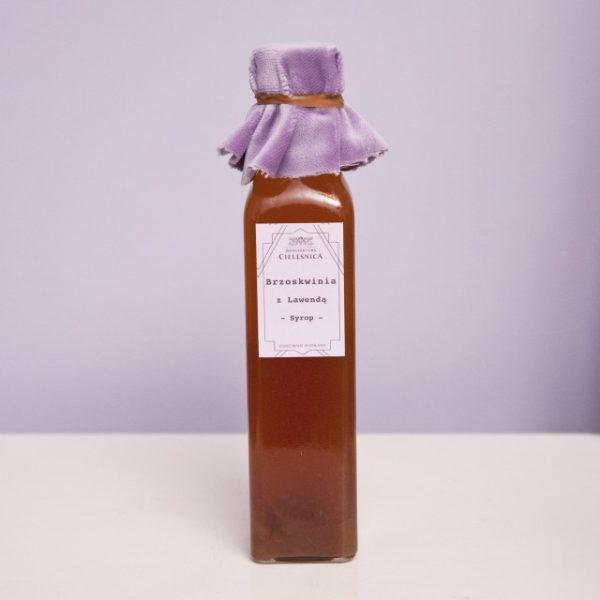Syrop Brzoskwinia z Kwiatami Lawendy 250 ml